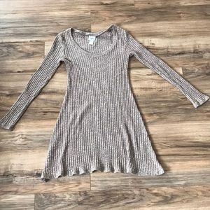 Tan dress from Buckle